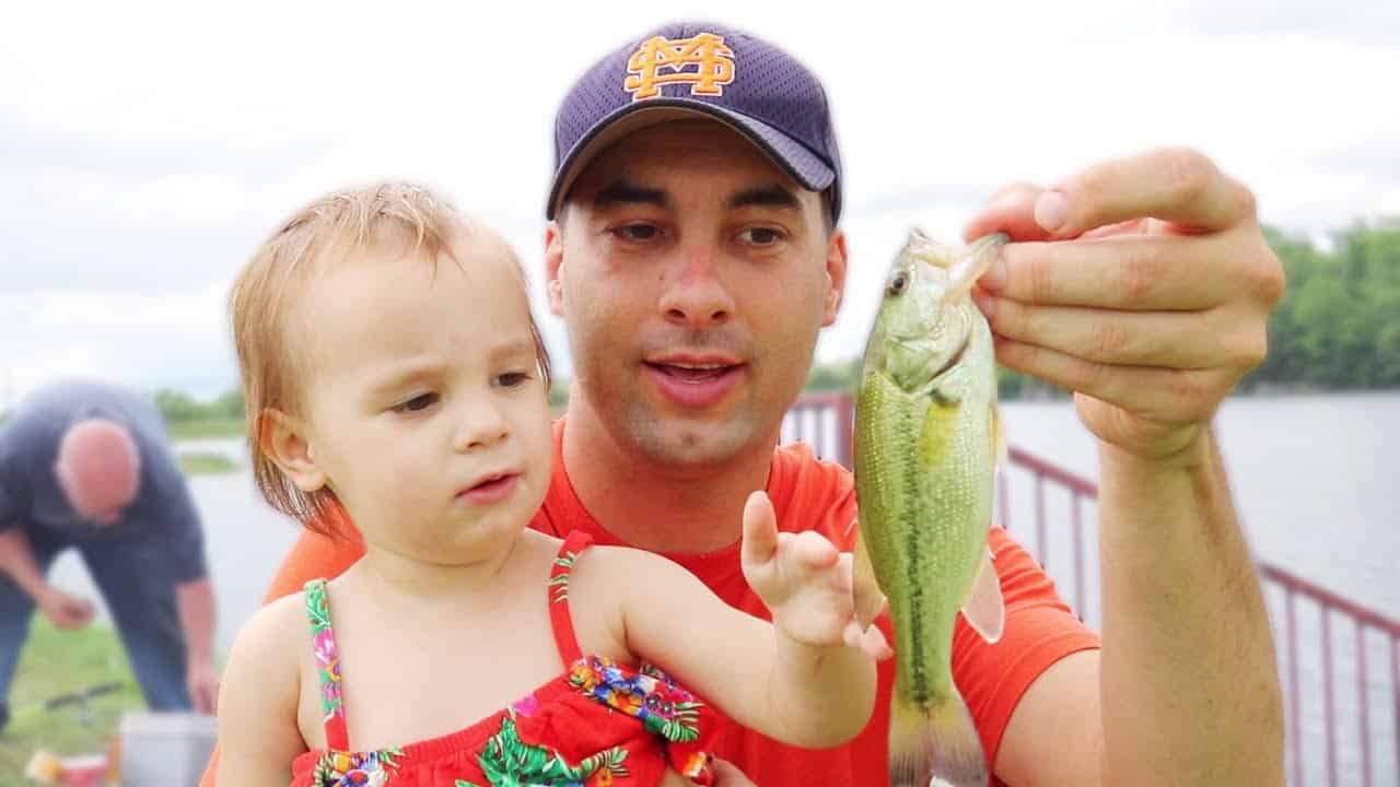 CATCH AND COOK | Bluegill Fishing with a Two-Year-Old