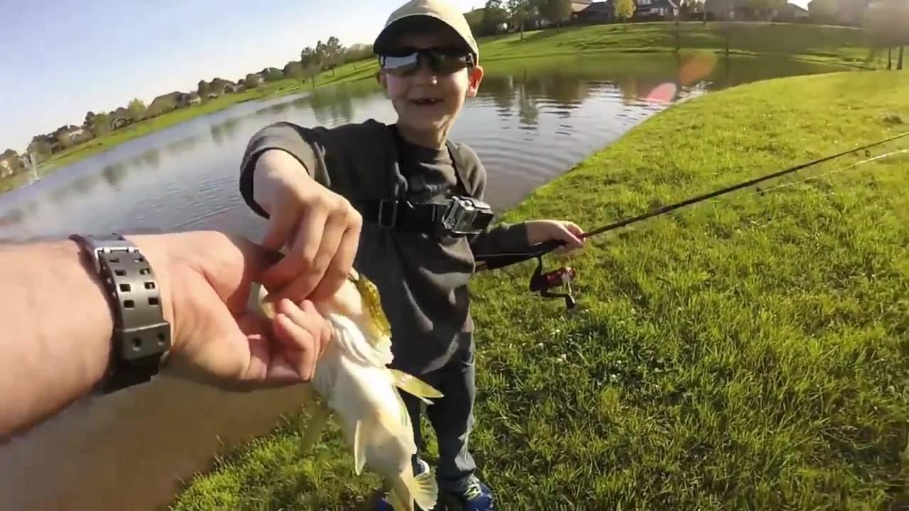 From The Bank!  Bass & Bluegill Fishing Bonanza